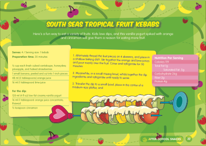 Healthy Kids Fruit Kebabs Recipe