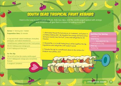 Healthy Kids Fruit Kebabs Recipe