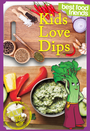 Kids Love Dips Cover