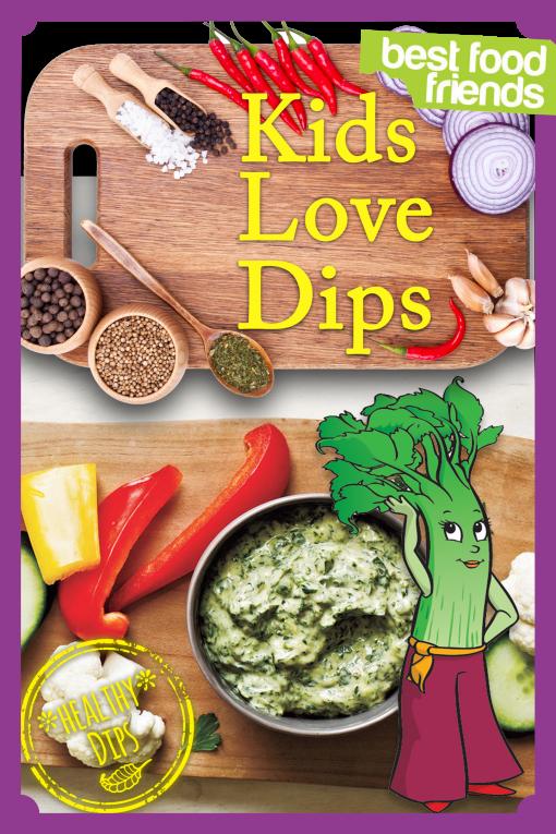 Kids Love Dips Cover