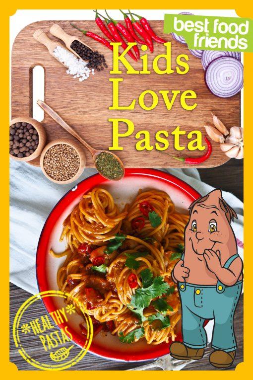 Kids Love Pasta Cover